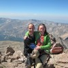 On the summit of Long's Peak, Aug 25 2012, 11:30am