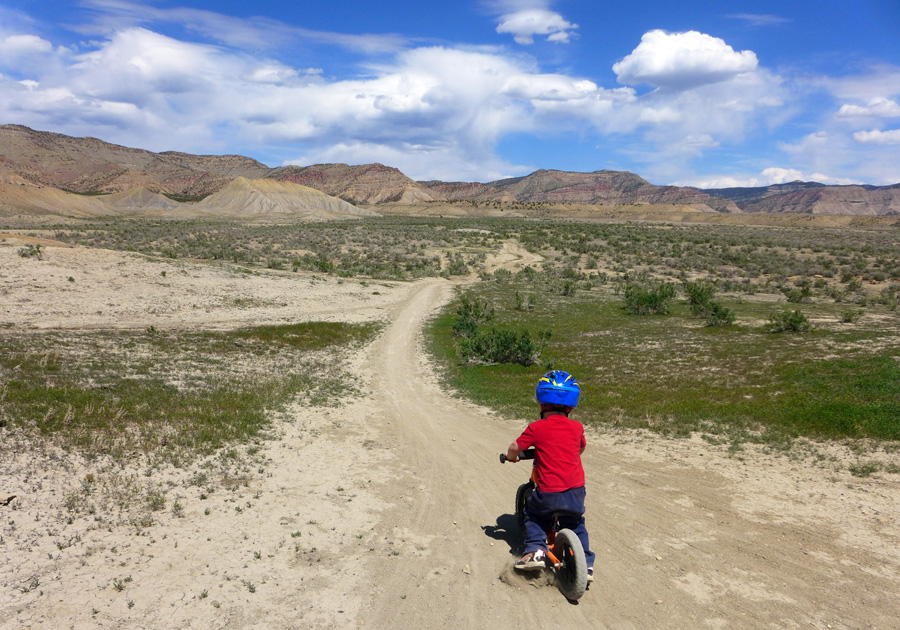 Taking the Strider out the Vegitarian trail