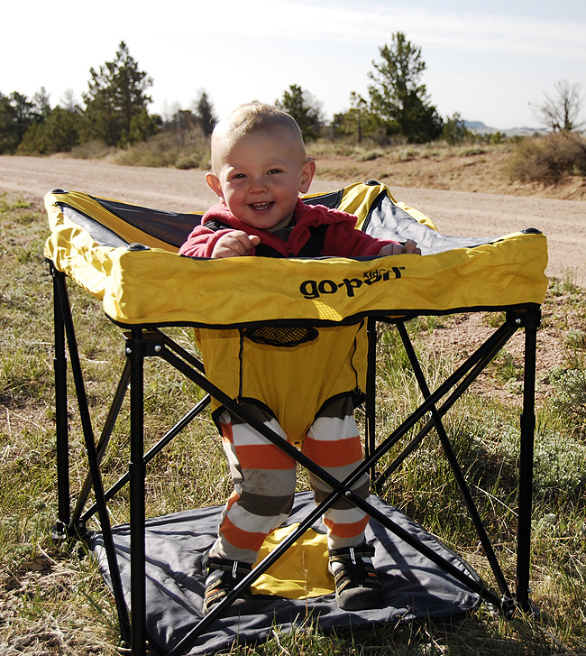 Fold Up Camping Baby Gear Review